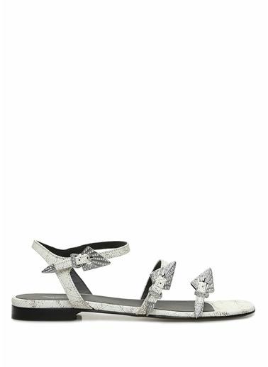 Zadig&Voltaire Sandalet Beyaz